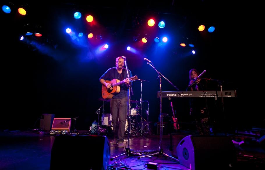 Cabaret du Mile End, à Montréal, le mardi 15 avril 2014.